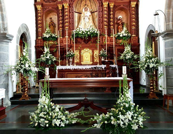 Decoración para altar