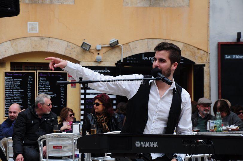 Ruben Goldfinger al teclado