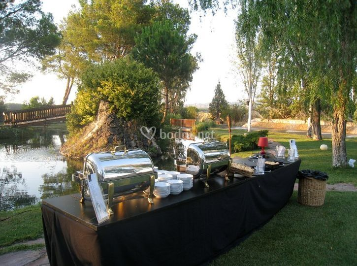 Catering al aire libre