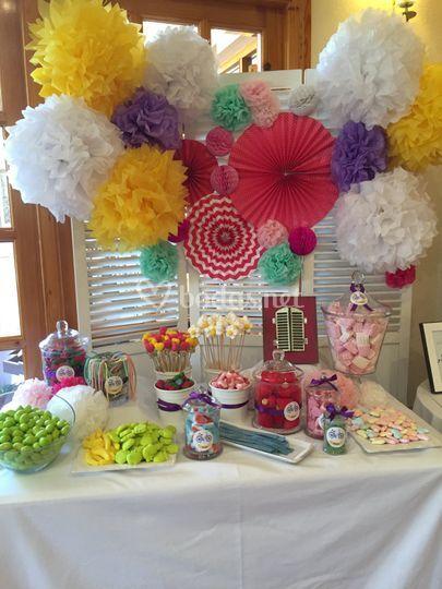 Candy bar colorido