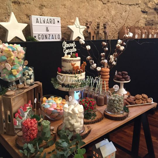 Candy bar cumple