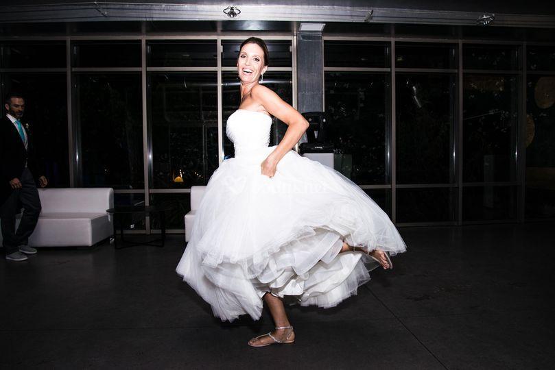 Bailando con la novia