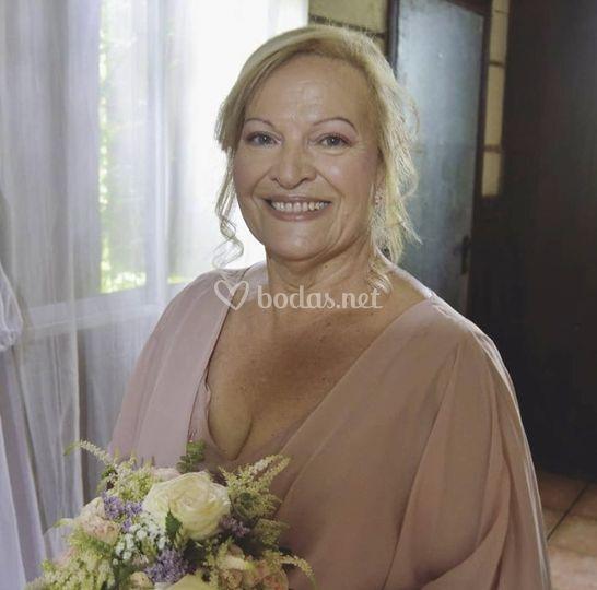 Novia de bodas de oro