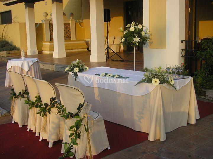 Decoraci n boda civil de florister a arriate foto 14 - Decoracion ceremonia civil ...