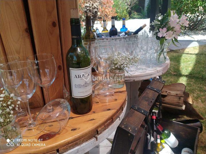 Rincón de vinos