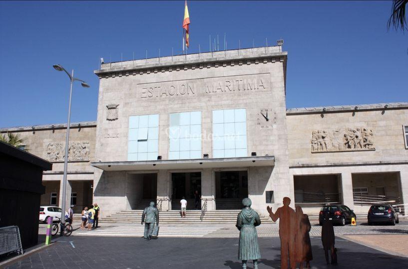 En el centro de Vigo