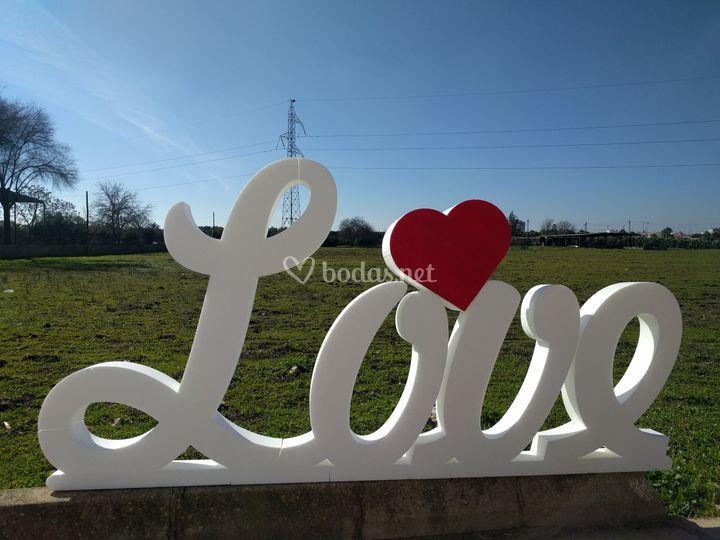 Love 1m de altura