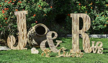 Letras para bodas MR 1