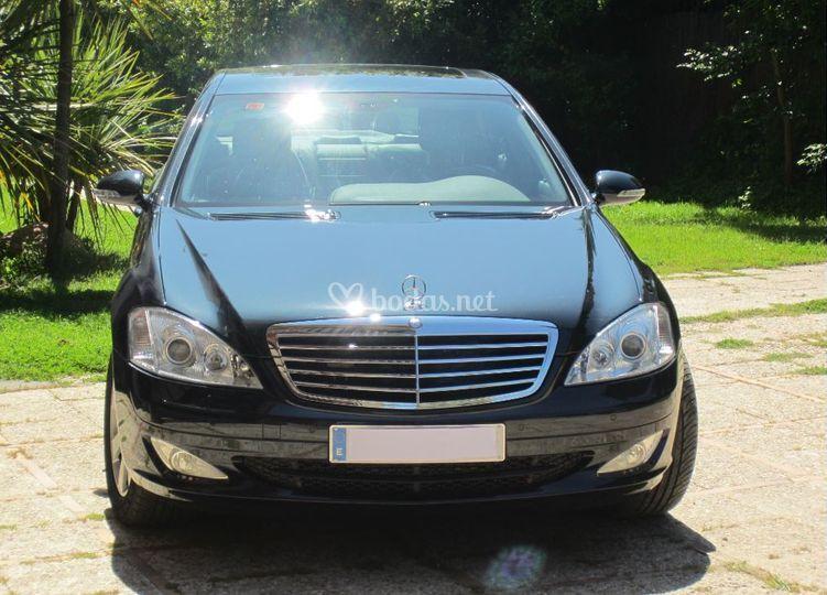 Mercedes clase S extra largo
