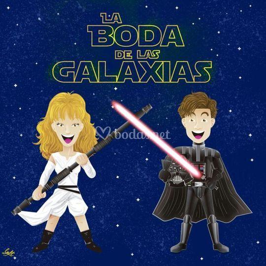 Invitac - Boda de las Galaxia