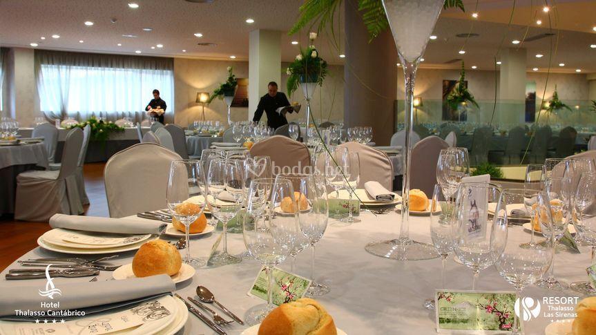 Un banquete único
