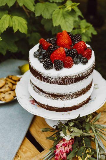 Pequeña Nude Cake