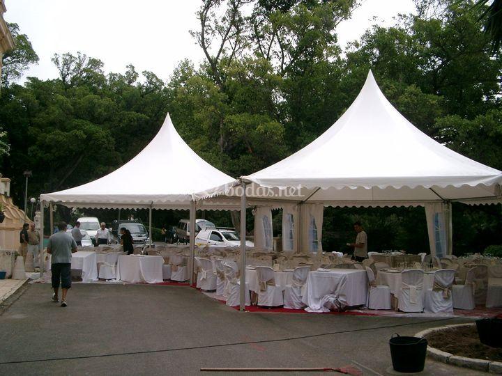 Carpa para bodas
