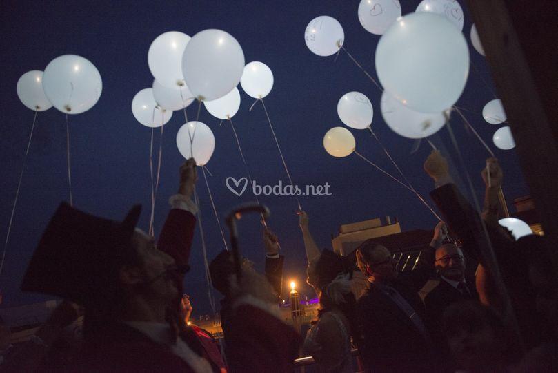 Lanzada de globos