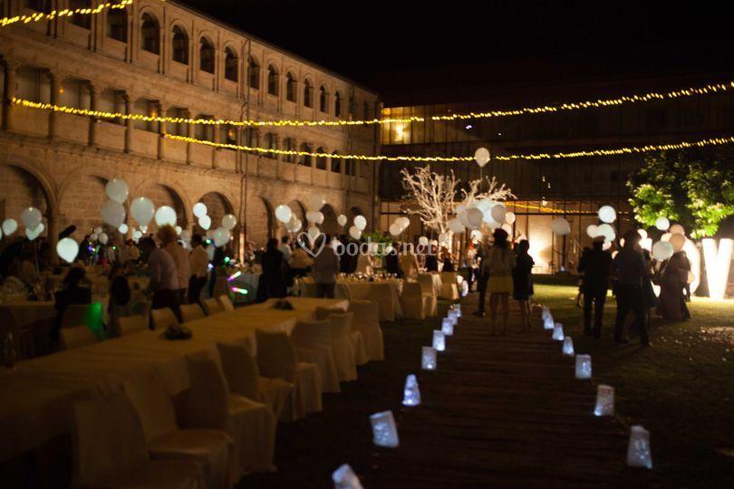 Iluminación para bodas
