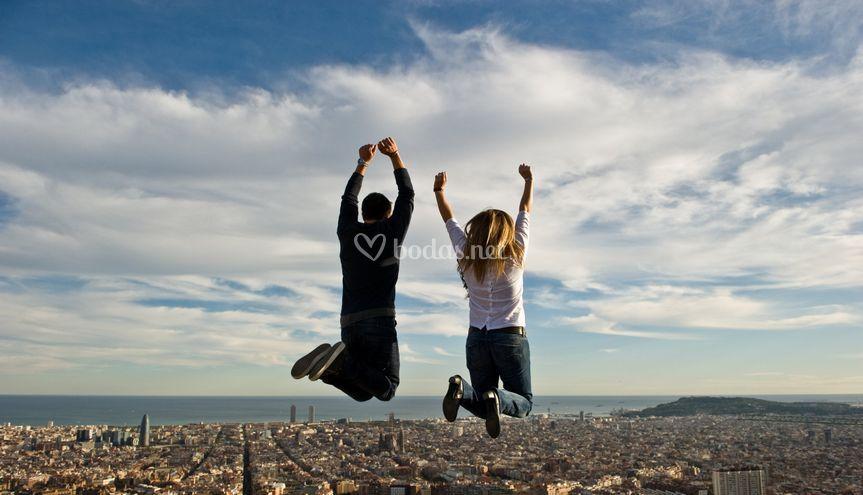 Preboda en Barcelona