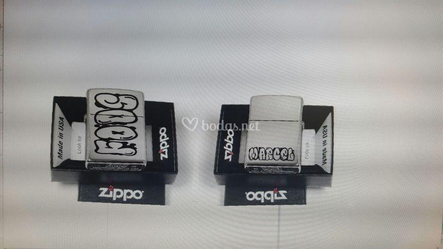 Zippo logo sublimado