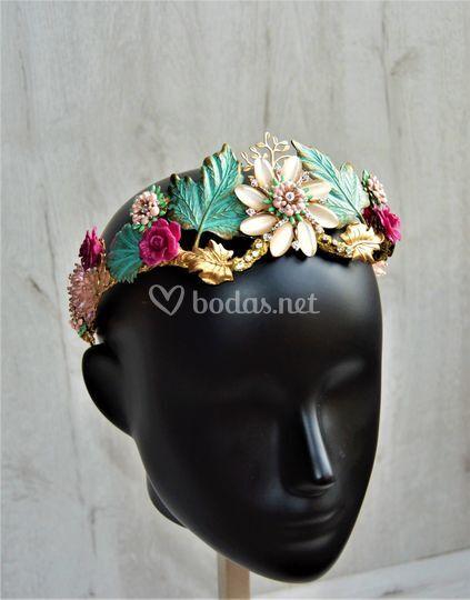 Tiara de joya exclusiva de novia