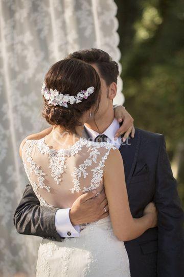 Diadema de novia