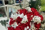 Bouquet de 20 rosas preservada