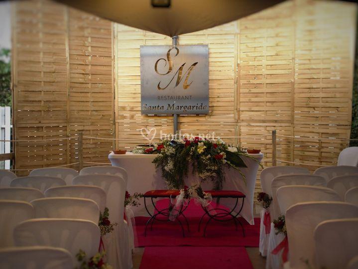 Nuevo espacio para bodas