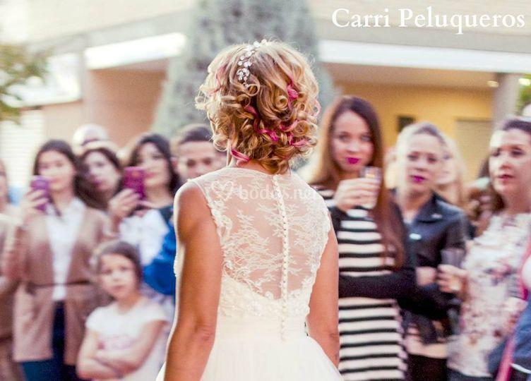 Desfile novia