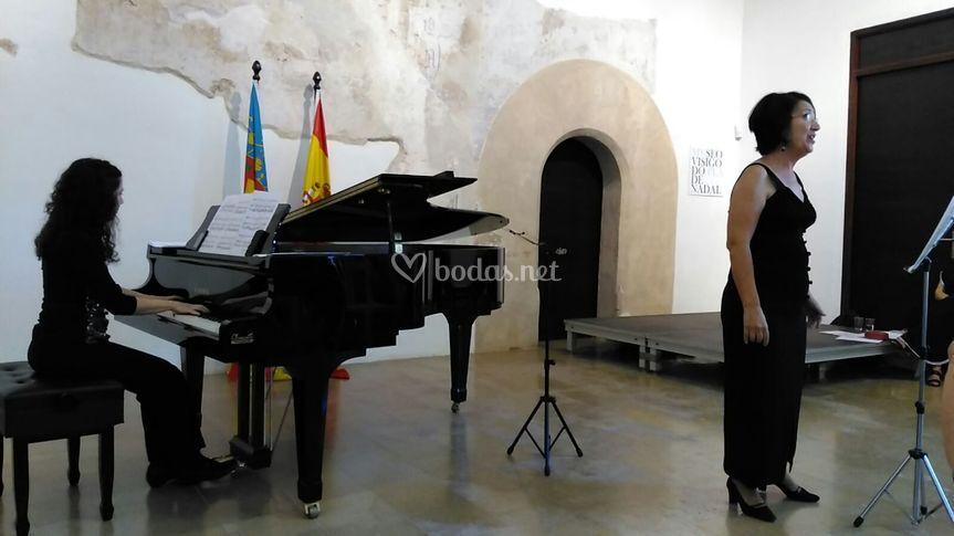 Concierrto Castillo Ribarroja