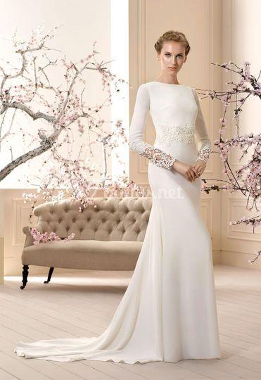 Vestido de novia modelo Capri