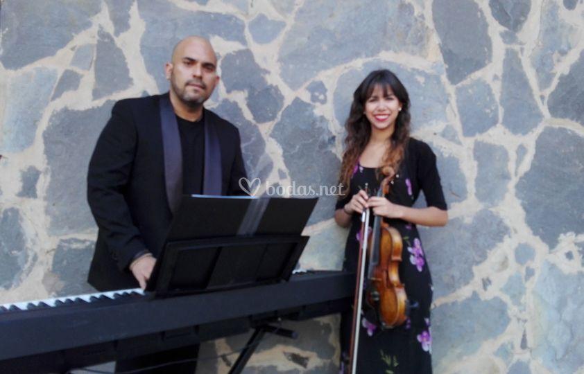 Romanza, Piano y Violín