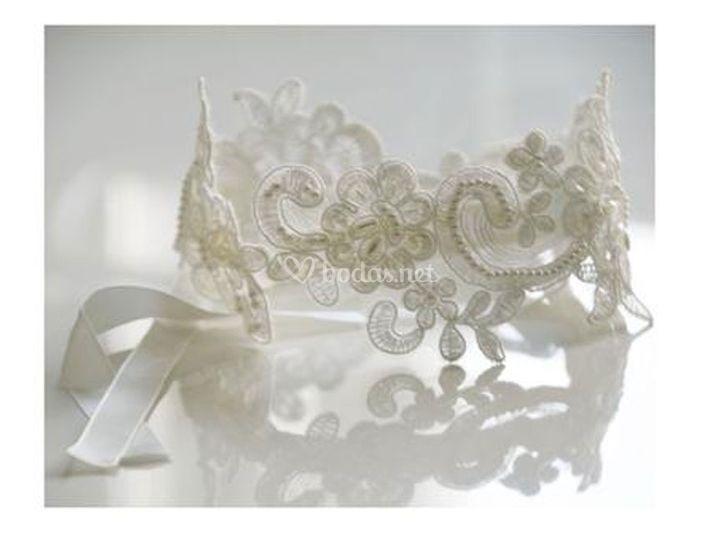 Banda para el pelo de la novia