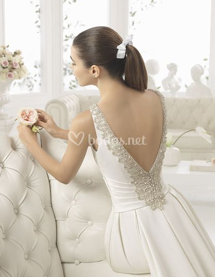 Espalda elegante