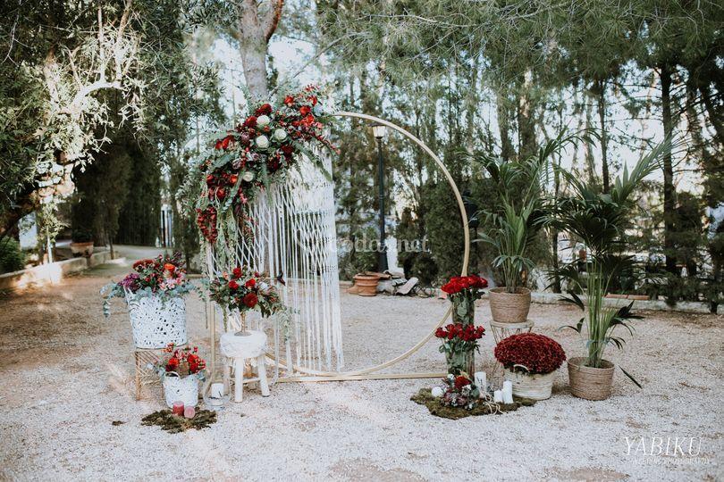 Ceremonia en Alquería de Galim