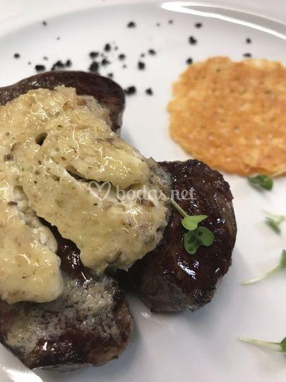 Solomillo mantequilla shitake
