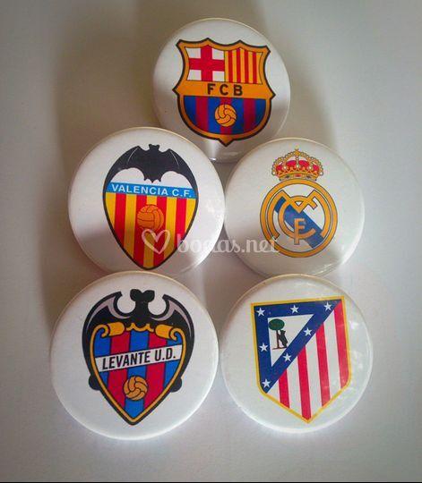 Chapas de fútbol