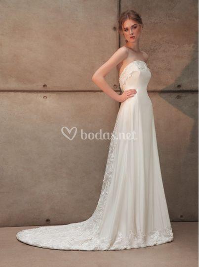 Vestido de novia Eduardo Andés