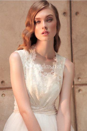 Detalles vestido de novia