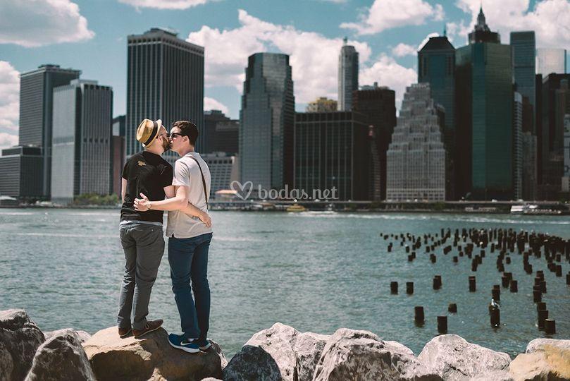 Preboda en Nueva York