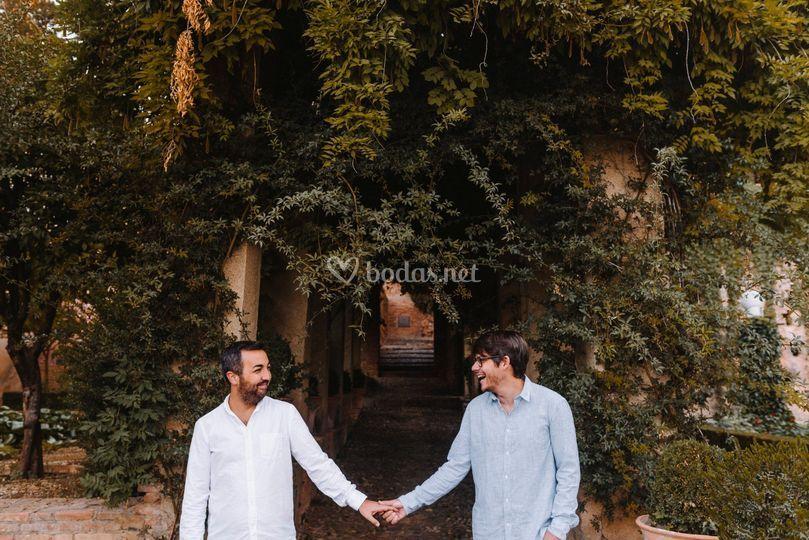 Preboda Gay en la Alhambra