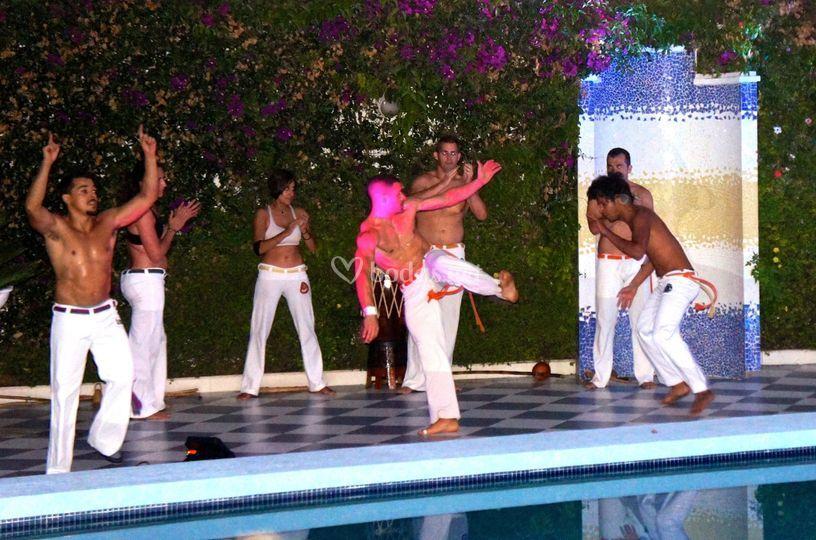 Bailarines en directo