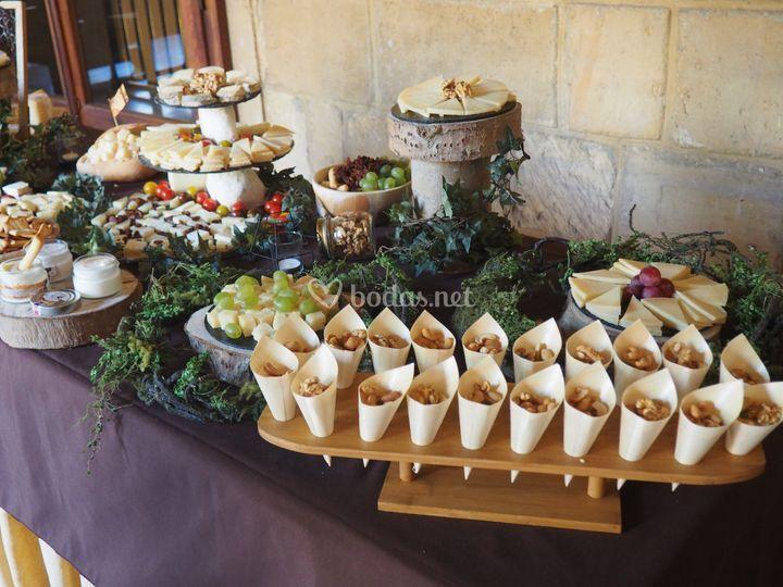 Quesos el palacio - Mesa de quesos para bodas ...