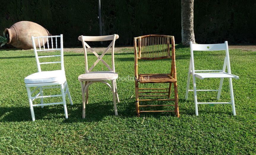 Nuestros modelos de sillas