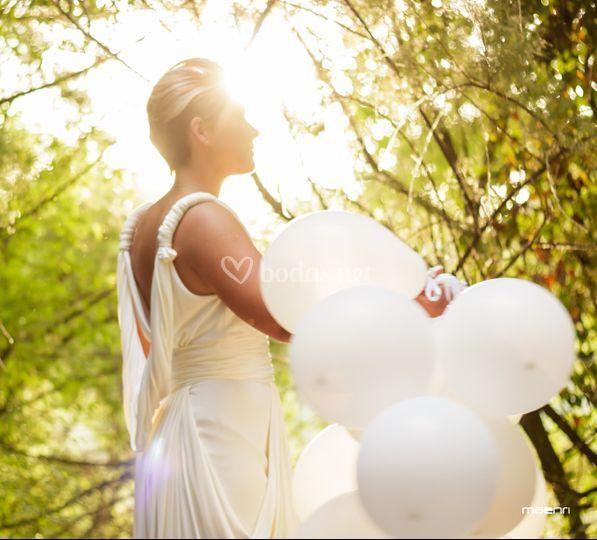 Fotografía de boda en exterior