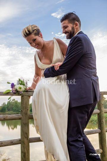 Foto de boda divertida