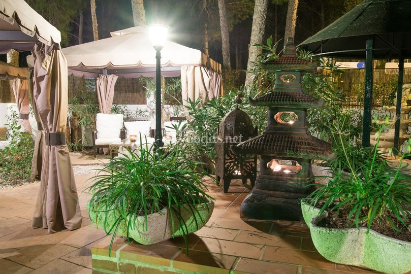 Jard n chill out de palau verd foto 10 for Jardin chill out