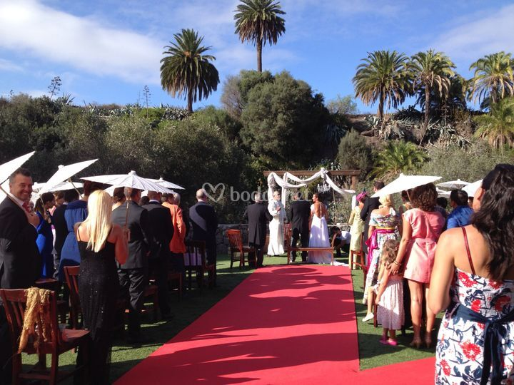 Sonorización de boda civil