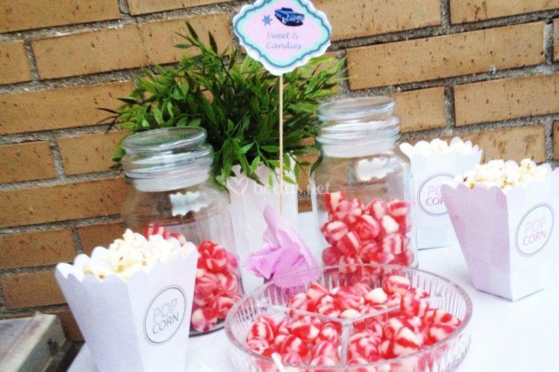 Candy bar temáticos