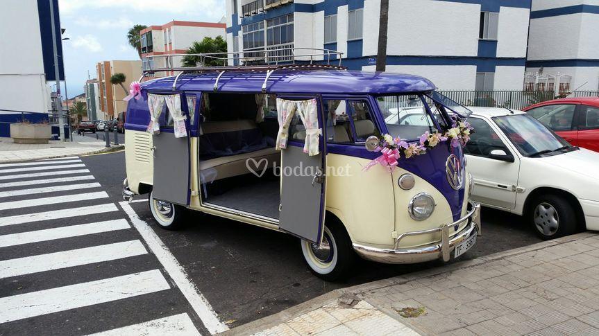 Foto Volkswagen T1 frontal