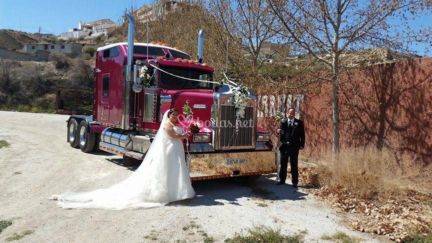 Camión para bodas