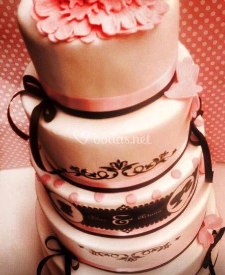 Delicioso pastel