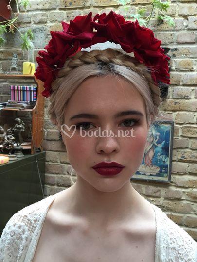 Prueba maquillaje de novia